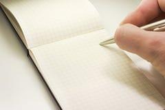 笔记本权利 免版税图库摄影