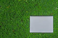 笔记本模板 免版税库存图片