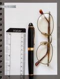 笔记本纸 图库摄影