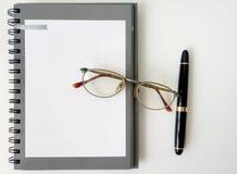 笔记本纸 库存图片