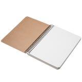 笔记本被隔绝的背景 图库摄影