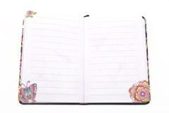 笔记本 免版税图库摄影