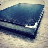 笔记, blocnot,笔记本,想法 免版税库存图片