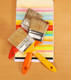 画笔请检查建筑例证更多我的油漆投资组合 免版税库存图片