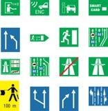 符号业务量 免版税图库摄影