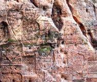 符号墙壁 免版税图库摄影