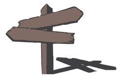 符号木头 库存照片
