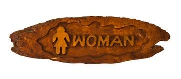 符号洗手间妇女 库存图片