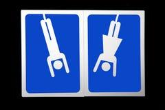 符号洗手间 库存图片