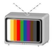 符号电视 免版税库存图片