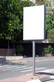 符号街道白色 免版税库存照片