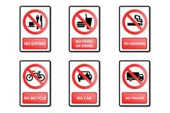 符号警告 免版税库存照片