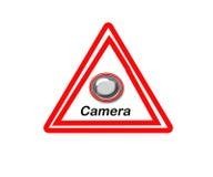 符号警告 库存例证