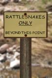 符号警告 图库摄影