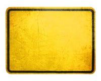 符号黄色 免版税库存照片