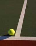 符合网球 免版税库存图片