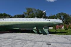 符拉迪沃斯托克的纪念水下博物馆S-56,滨海边疆区 库存图片