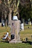 第一个世界大战战士坟墓在Zentralfriedhof,维恩 免版税库存照片