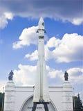 第一个俄国船空间 免版税库存照片