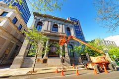 第一个国家银行大厦在费城 免版税库存照片
