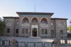 第一个土耳其议会大厦 免版税库存图片