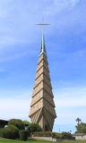 弗兰克・劳埃德・怀特: 菲尼斯或响铃塔的教会 免版税库存照片