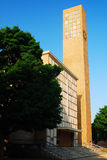 第一个基督教会,哥伦布 免版税库存照片
