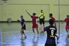 第一个大学Korfball冠军-土耳其 库存图片