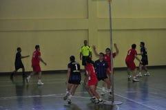 第一个大学Korfball冠军-土耳其 库存照片