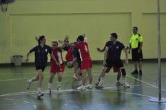 第一个大学Korfball冠军-土耳其 免版税库存图片