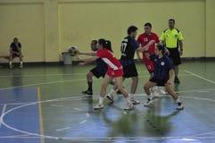第一个大学Korfball冠军-土耳其 免版税库存照片