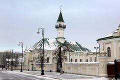 第一个大教堂清真寺在喀山,在1766-1770修建Cathe 免版税库存照片