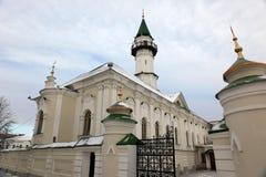 第一个大教堂清真寺在喀山,在1766-1770修建Cathe 免版税图库摄影