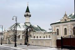 第一个大教堂清真寺在喀山,在1766-1770修建Cathe 库存照片