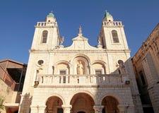 第一个奇迹的教会在内盖夫加利利,以色列的Cana 库存图片