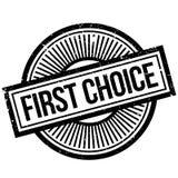 第一个挑选不加考虑表赞同的人 免版税图库摄影