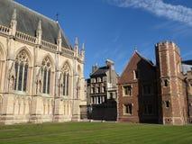 第一个法院,圣约翰` s学院,剑桥 免版税图库摄影