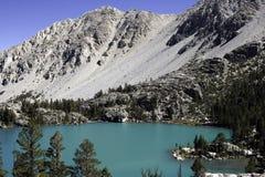 第一个湖 免版税图库摄影
