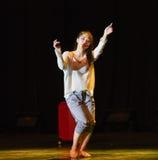 第一个爱现代舞蹈 免版税库存照片