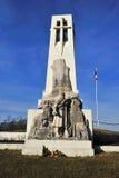 第一个纪念碑vauquois战争世界 免版税库存图片