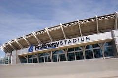 第一个能量体育场 图库摄影