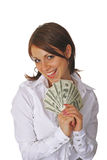第一个薪金 免版税库存照片