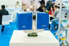 第一中国激光扫描系统 免版税库存照片