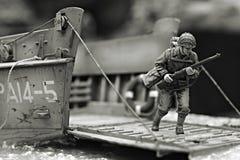 第一位海军陆战队员 免版税库存照片