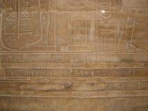 第一位考古学家的题名 库存图片