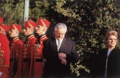 第一位Croatin总统 免版税库存照片