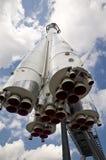 第一只俄国太空船 免版税库存照片