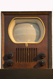 第一台电视-电视-飞利浦1950年 免版税库存图片
