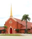 第一团结的卫理公会在墨尔本, FL 免版税库存照片