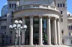第一基督科学教堂在波士顿 免版税库存照片